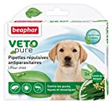 Beaphar - VETOpure, pipettes répulsives antiparasitaires - chiot - 3 pipettes